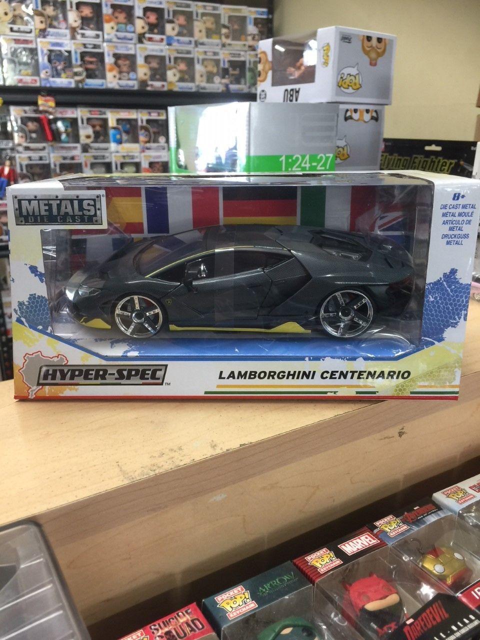 nice Awesome Lamborghini Centenario Grey Hyper Spec 1/24 Scale ...