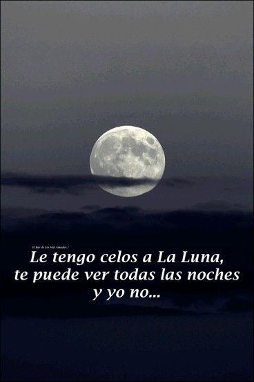Celos a la luna   i miss u :(   Pinterest