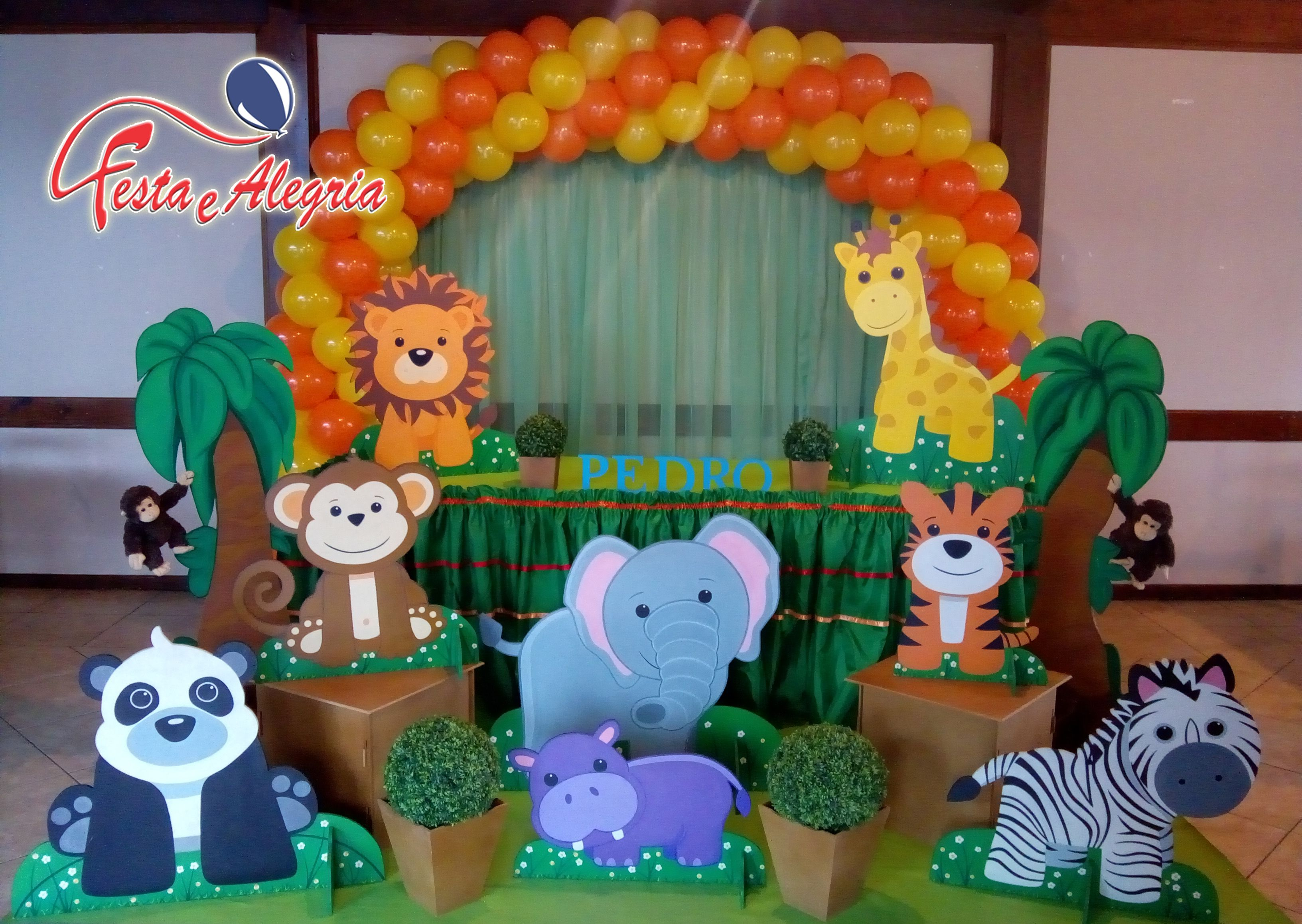 Decoracao Infantil Safari Baby Decoracao Infantil Festa