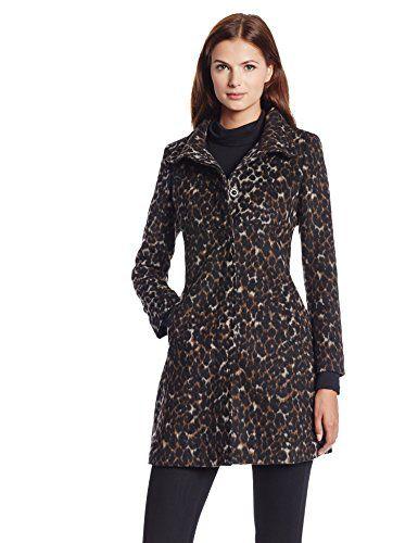 Via Spiga Women's Leopard Wool Walking Coat, Leopard, 8 Via Spiga http://www.amazon.com/dp/B00DJMPPLU/ref=cm_sw_r_pi_dp_GWqeub0F7304N