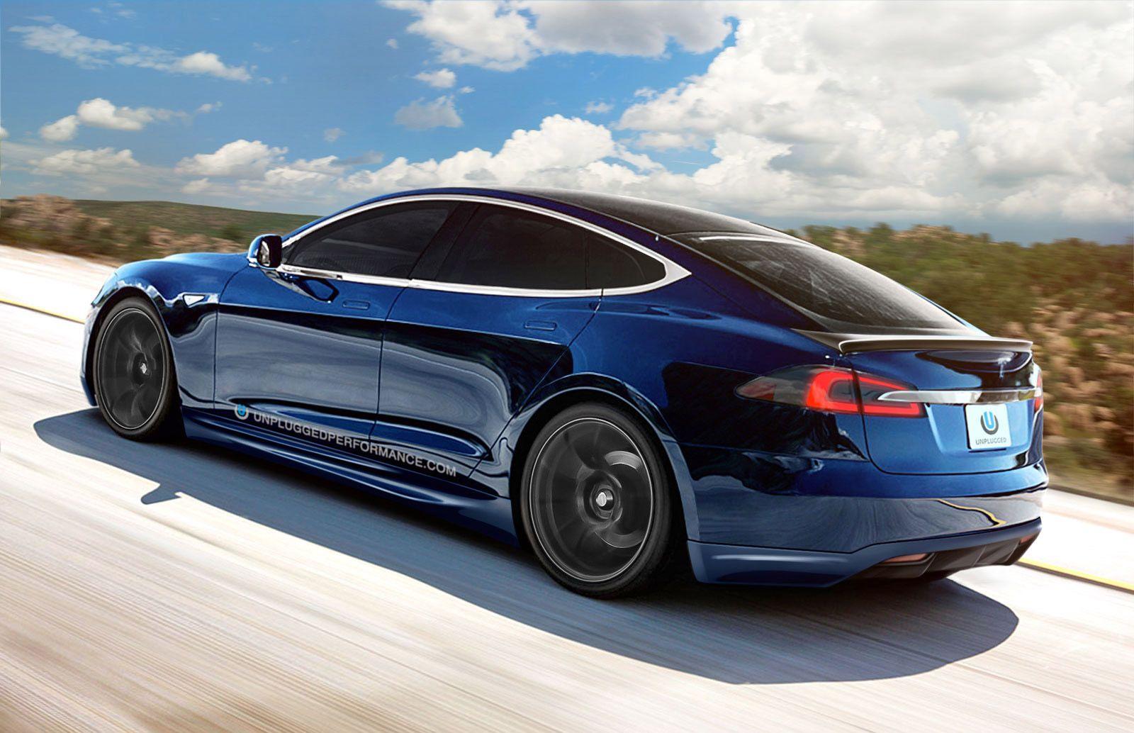 Tesla Model S by California car customizer Unplugged Performance.
