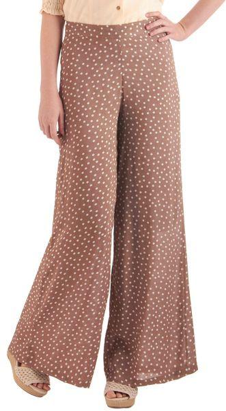 Petals in The Breeze Pants   Wideleg pants. So cute!  #fashion #wideleg