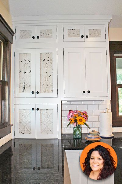 Put A Spin On Tin Tiles Kitchens Pinterest Doors Kitchens And