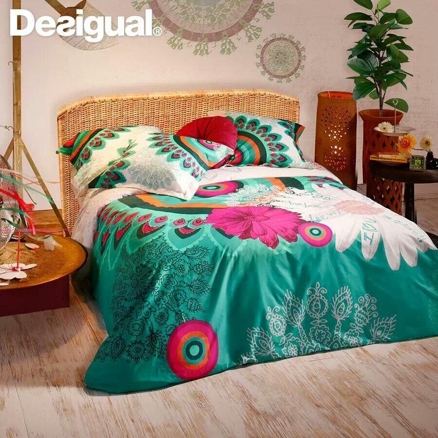 Desigual bedroom sheets ropa de cama deco ideeas pinterest - Desigual ropa de cama ...