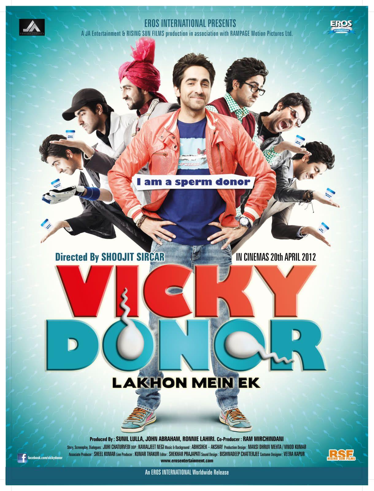 Vicky Donor 2012 Hindi Movies Online Free Hindi Movies Online Good Movies