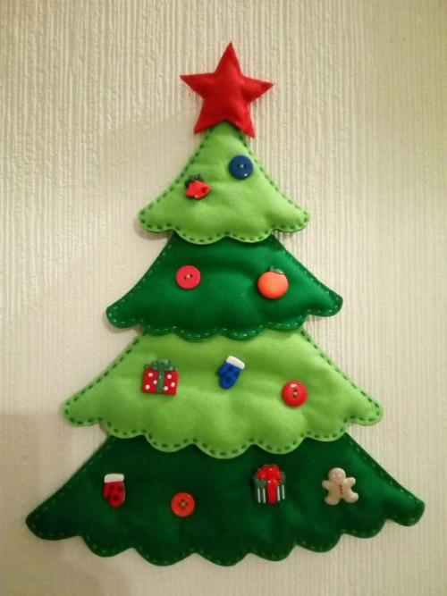 Manualidades Para Navidad En Fieltro