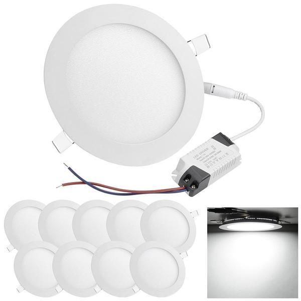 Delight 12w 10 Pack Recessed Smd Led Downlight Ceiling Light Ceiling Lights Led Ceiling Lights Led Recessed Ceiling Lights
