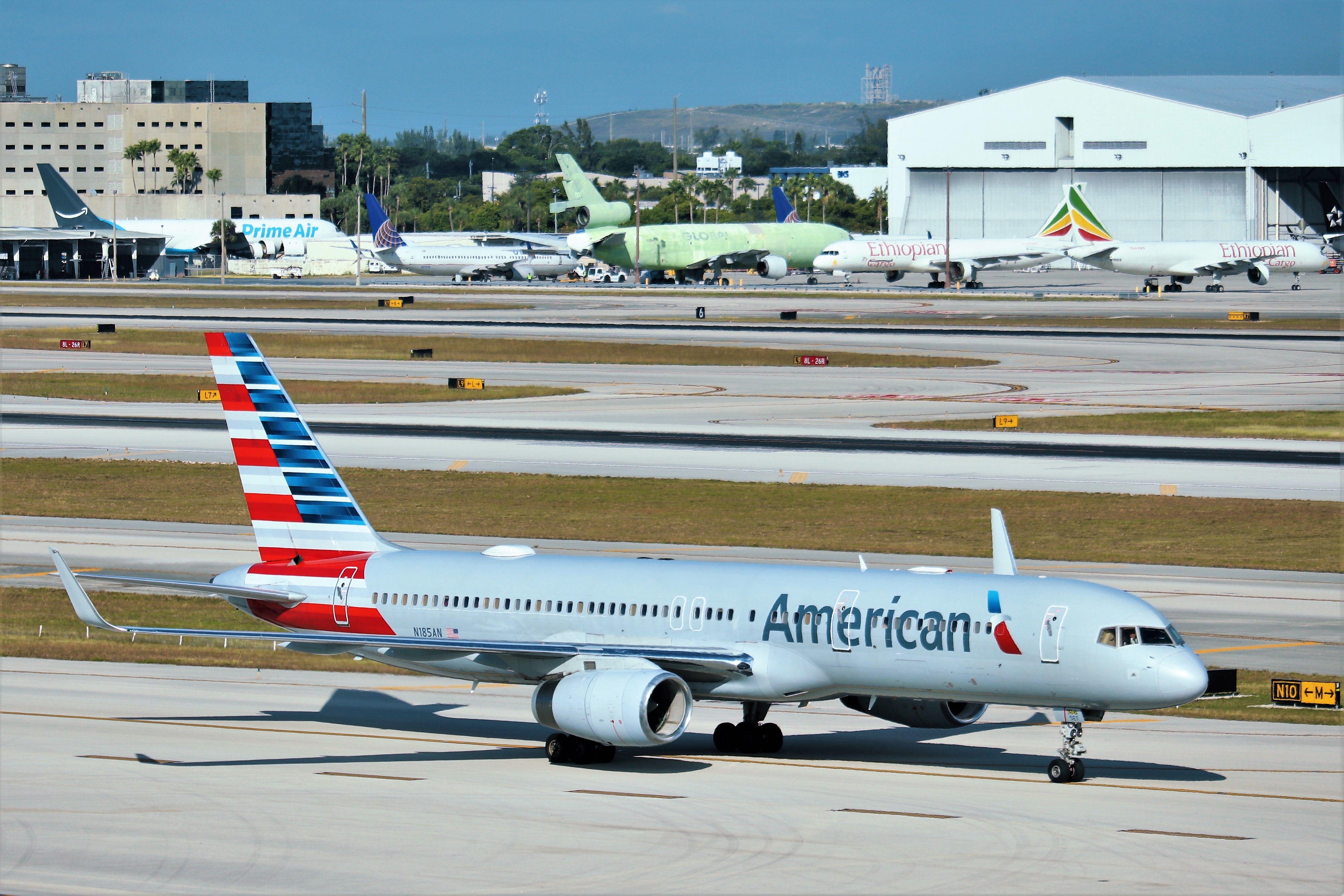 American Airlines 757 American Airlines American Air Show