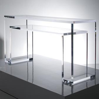 Acrylic Console Table On Acrylic Console Table Acrylic