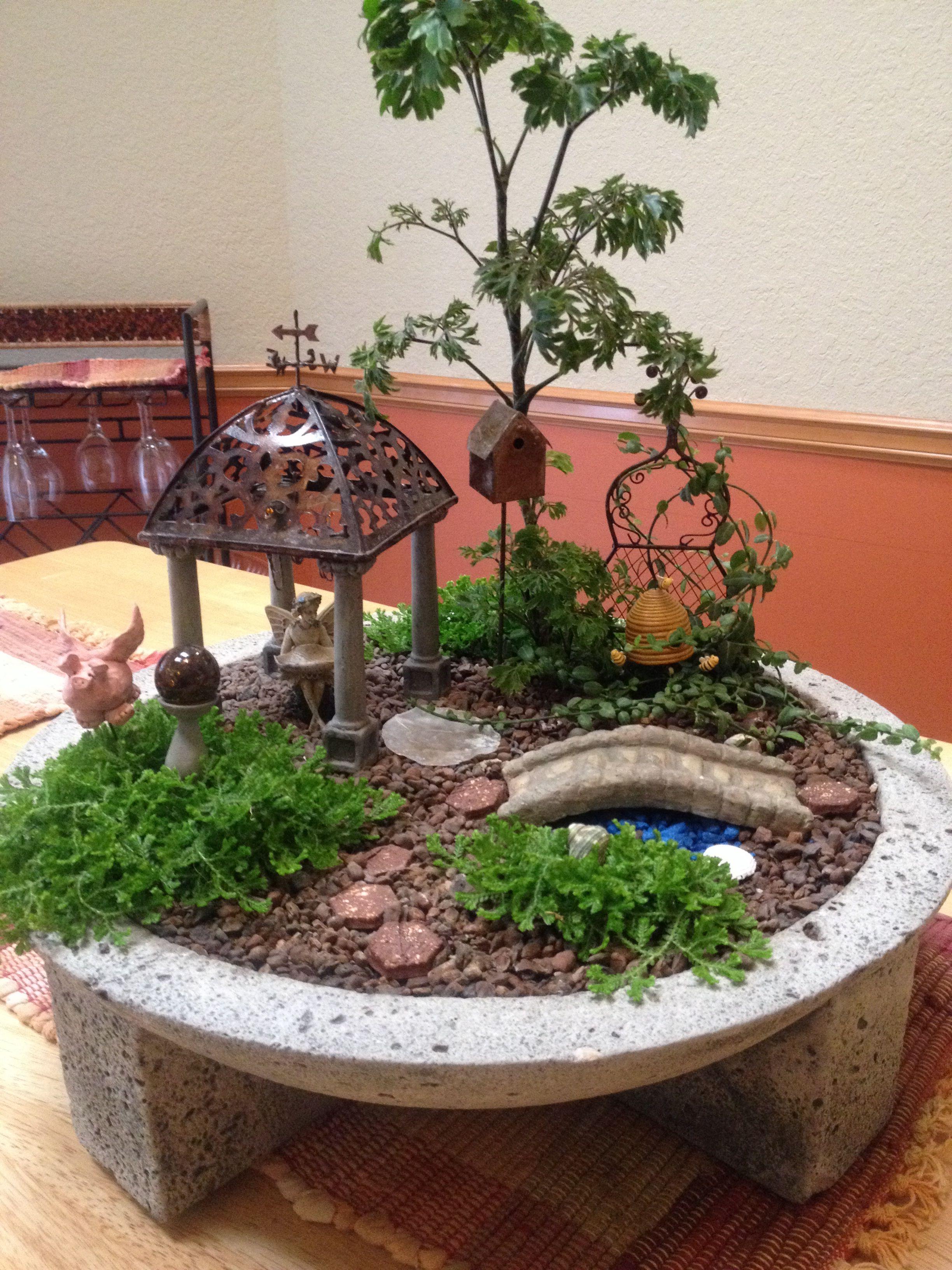 Collection 14 des plus beaux jardins miniatures fairy for Jardins zen miniatures