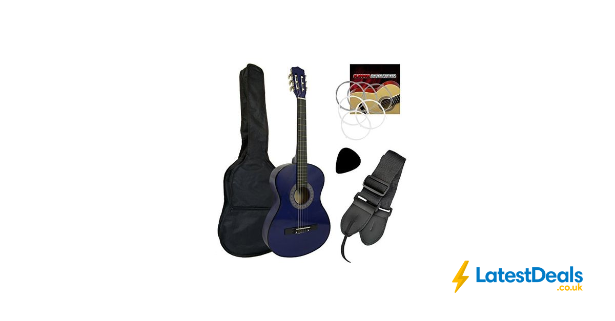 Tiger Beginner 3 4 Size Classical Guitar Pack 39 95 At Amazon Classical Guitar Guitar Amazon