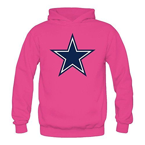 Noble Queen Women s Dallas Cowboys Fashion Hooded Sweatshirt   Hoodie Size  M Pink 8a0a772b0