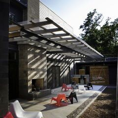 Modern Patio By B O Design Studio Pllc Translucent Roofing And Polycarbonate Roofs General Roofing Systems Modern Patio Design Modern Patio Patio Design