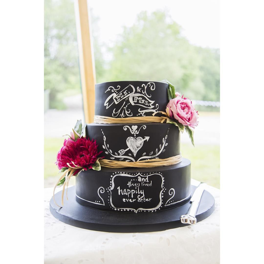 Chalkboard Cake Cookies Wedding Beautiful Cakes Pretty Art