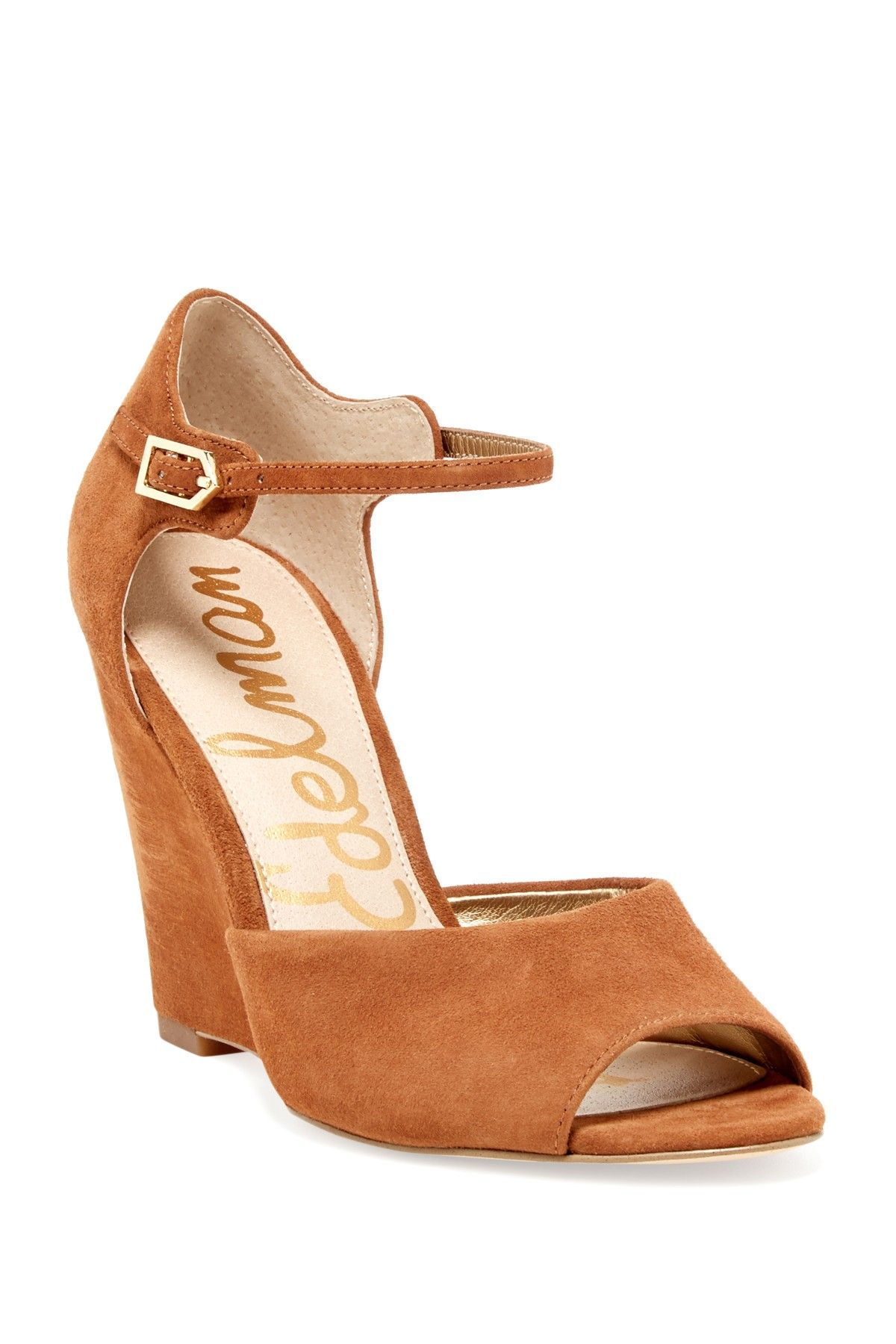 Sam Edelman - Raven Open Toe Ankle Strap Wedge at Nordstrom Rack. Free  Shipping on