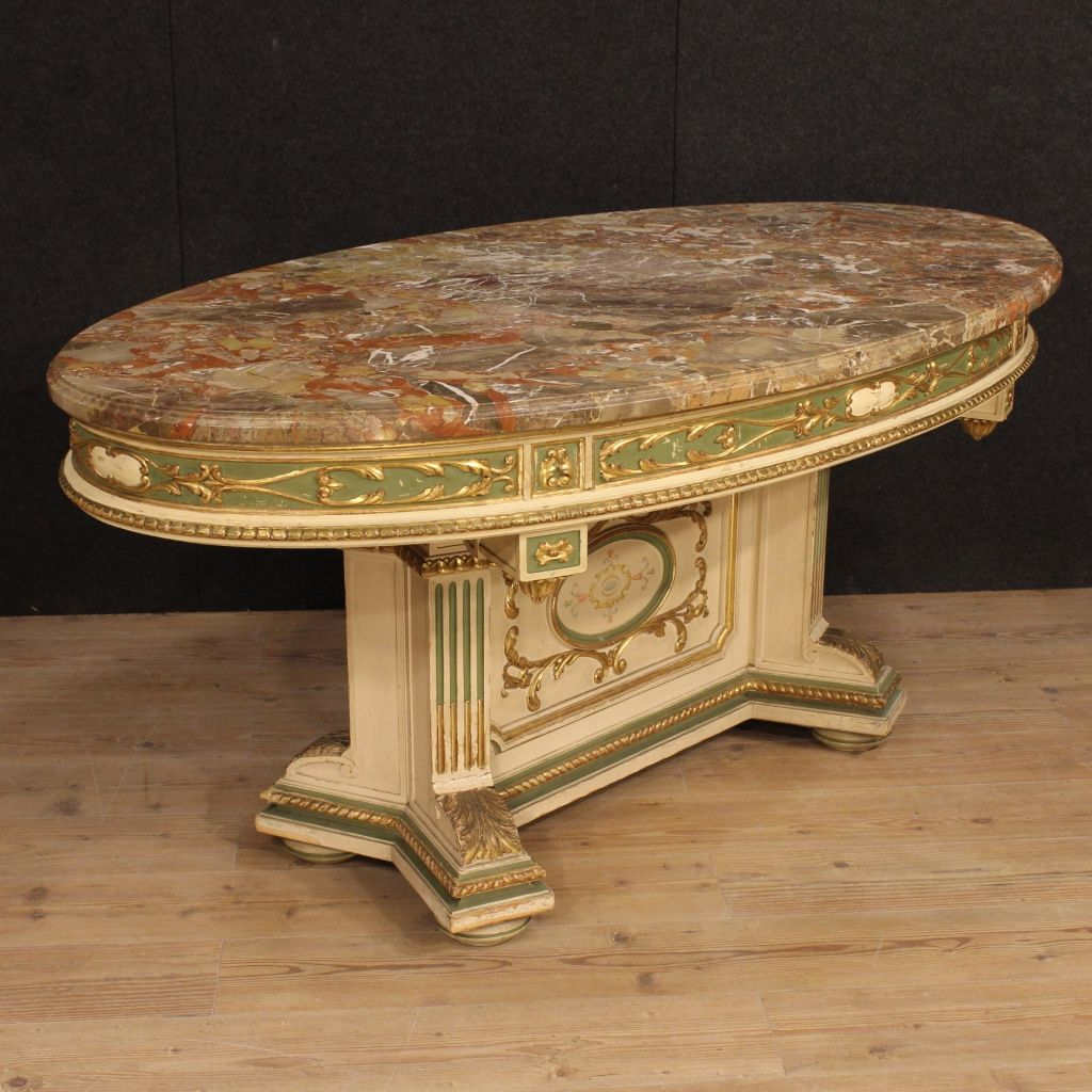 italian lacquer furniture. 6000\u20ac Great Italian Lacquered And Gilded Table With Marble Top. Visit Our Website Www Lacquer Furniture