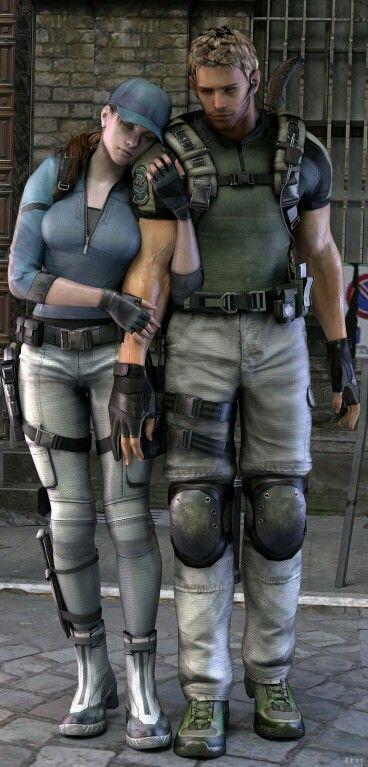 Jill Valentine Chris Redfield Resident Evil Resident Evil