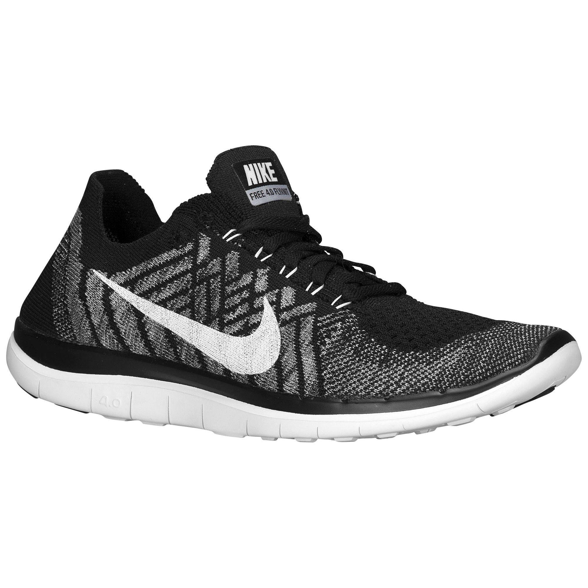 7307c530b309f denmark nike free 4.0 flyknit 2015 womens running shoes black wolf grey  dark grey white a362e