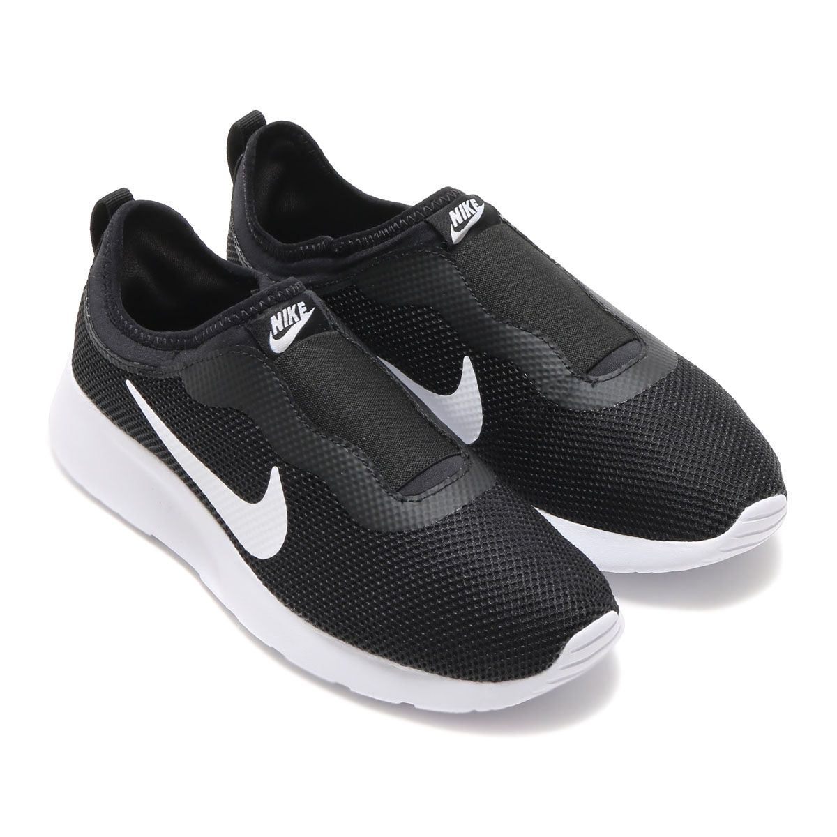 NIKEWMNSTANJUNSLIP (Nike Women's Tanjung Slip) BLACK / WHITE [Men's Women's  Sneakers] 17SU