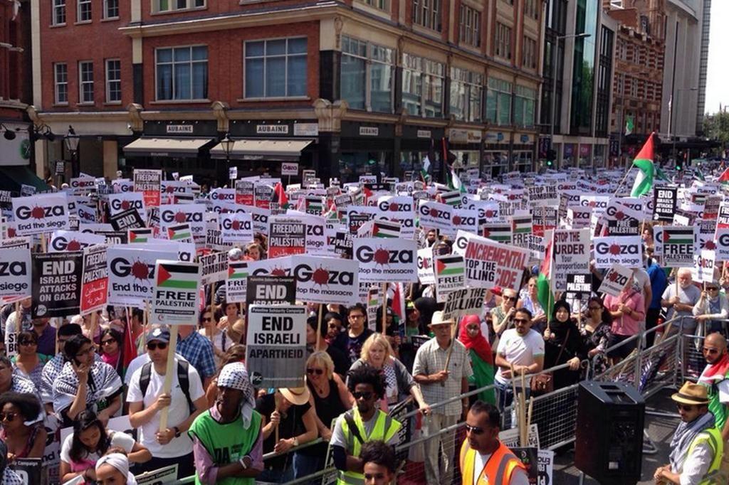 Evening Standard On Twitter Palestine London Pictures Gaza