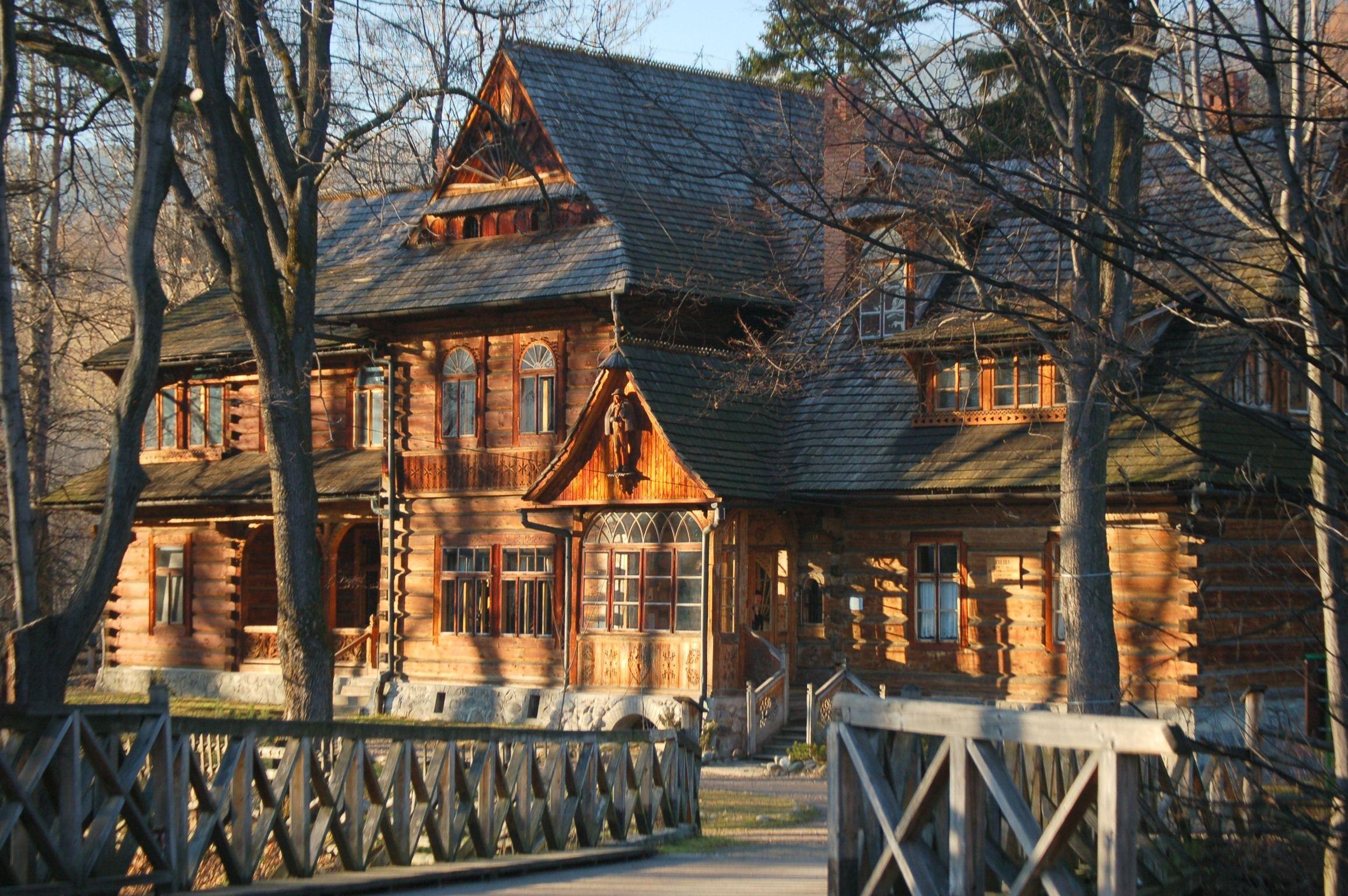 Cute wooden house in Zakopane
