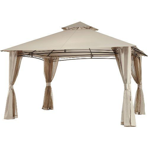 Replacement Canopy And Netting Set For The Waterford Gazebo 10 X 13 By Garden Winds 199 99 Gazebo Canopy Gazebo Replacement Canopy Gazebo