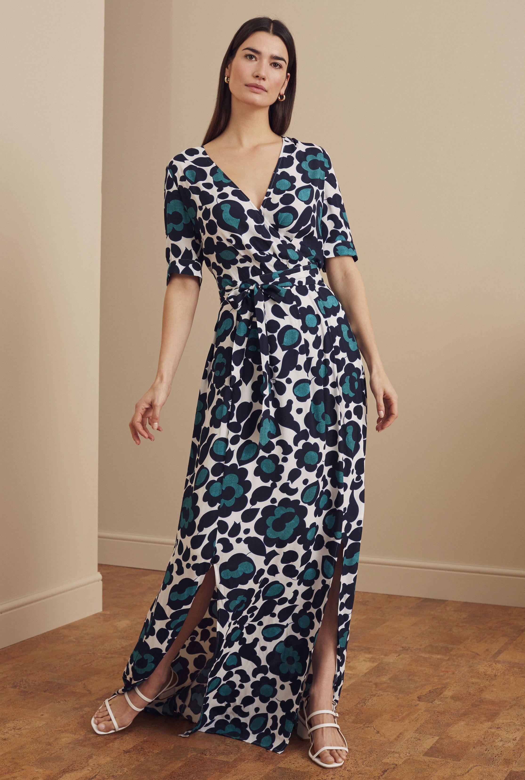 Tall Abstract Floral Fixed Wrap Maxi Dress Long Tall Sally Us In 2020 Maxi Dress Maxi Wrap Dress Tall Wrap Dress [ 3314 x 2229 Pixel ]