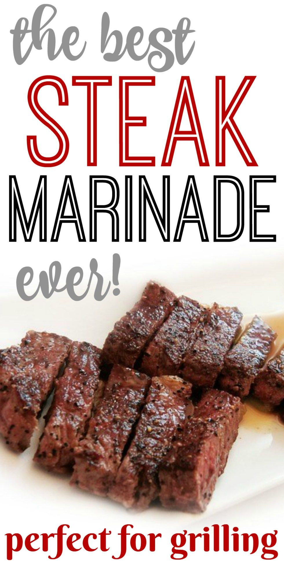 Steak Marinade! Perfect for Grilling #marinadeforbeef