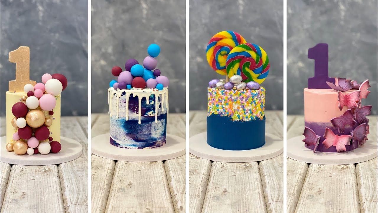 Mini Cakes Design Ideas In 2020 Mini Cakes Cake Sizes Cake Designs