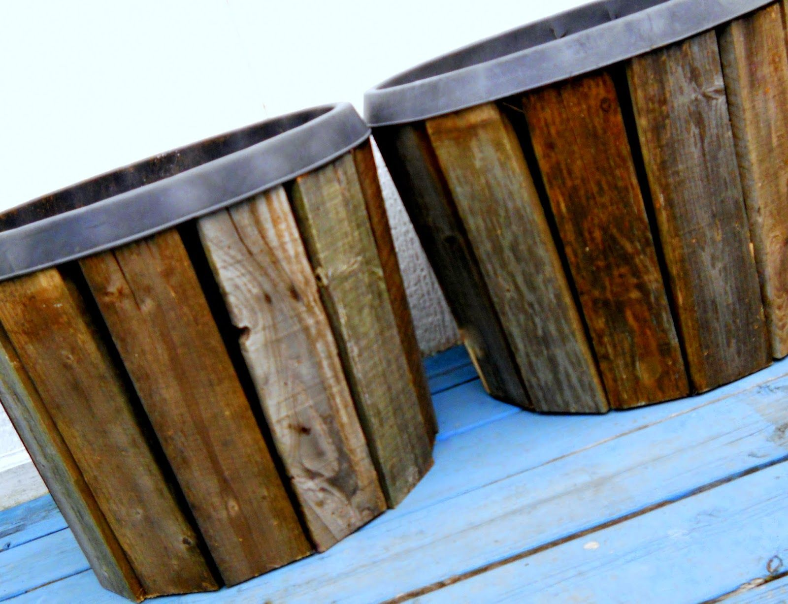 Make The Best Of Things Pallet Wood Planter Covers Diy Part 1 Garden Outdoor Living