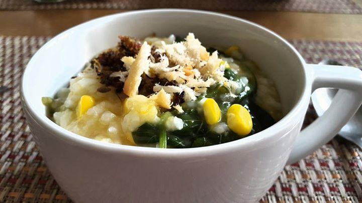 Bubur Manado Indonesian Culinary Food Breakfast Content Jagung Manis Sweet Corn Ubi Cilembu Sweet Potato Kabocha Labu Pumpkin Ikan Jambal As Jagung