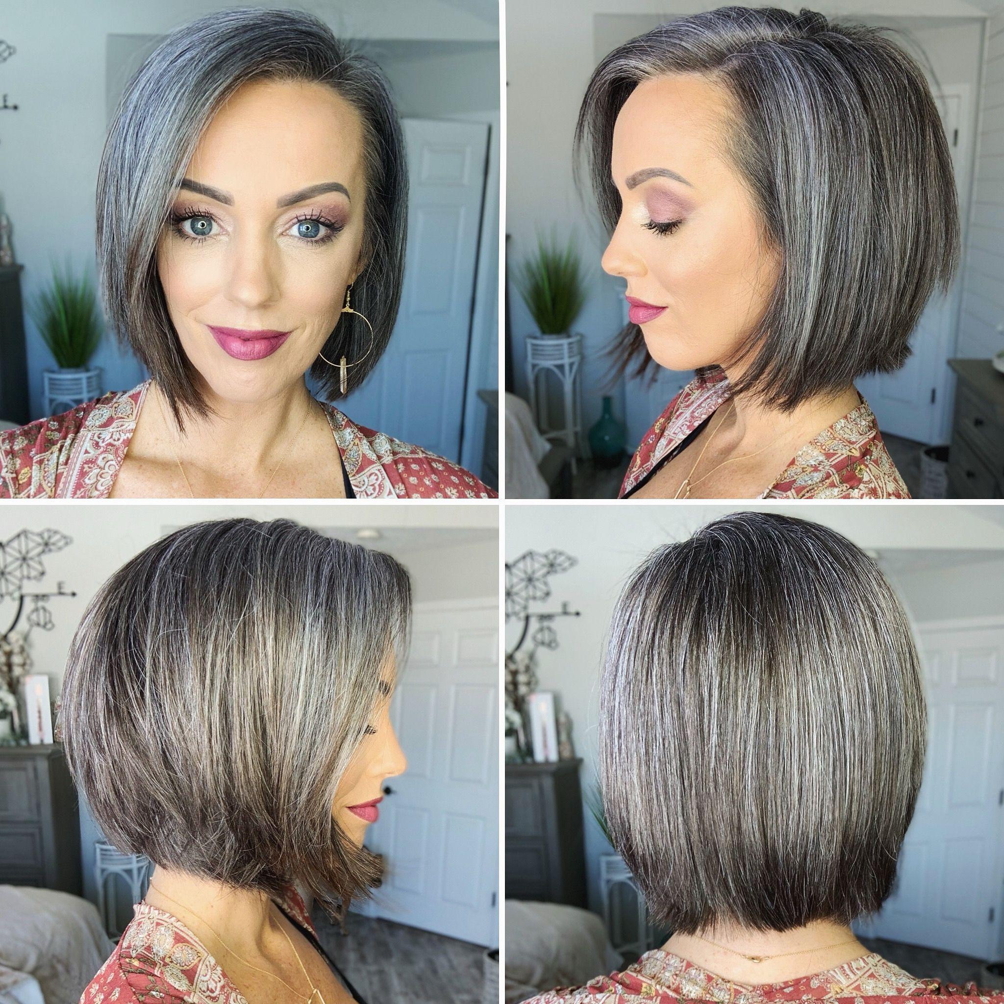 Pin On Grey Hair Transition