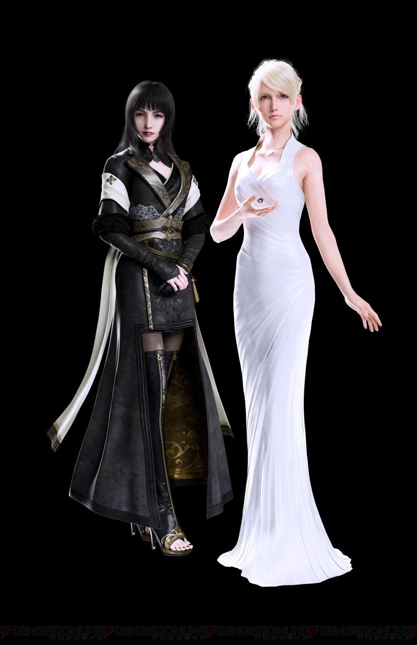Character Design Final Fantasy Xv : Square enix and famitsu have revealed a set of new final