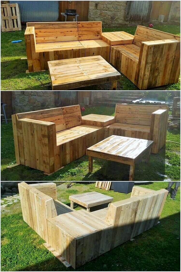 Items Made From Wooden Pallet Everyone Should Try! | Pallet garden ...