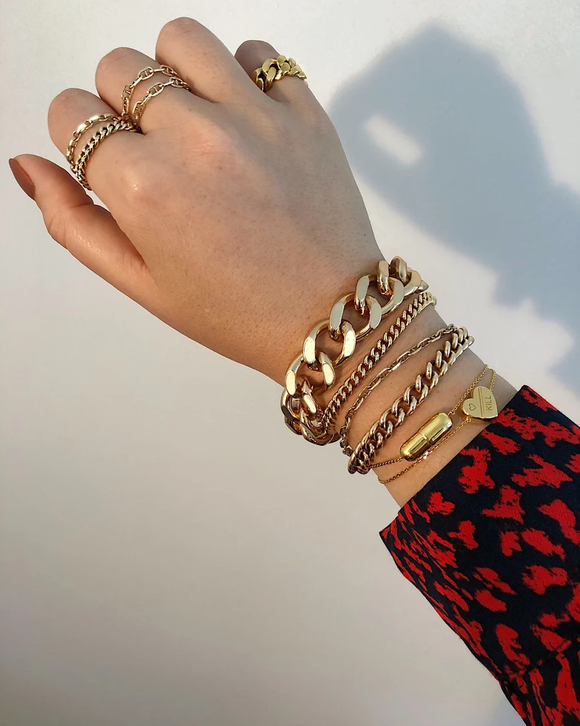 TOUS LES JOURS STACK (14K GOLD FILLED OR 925 STERLING SILVER) – HRH COLLECTION
