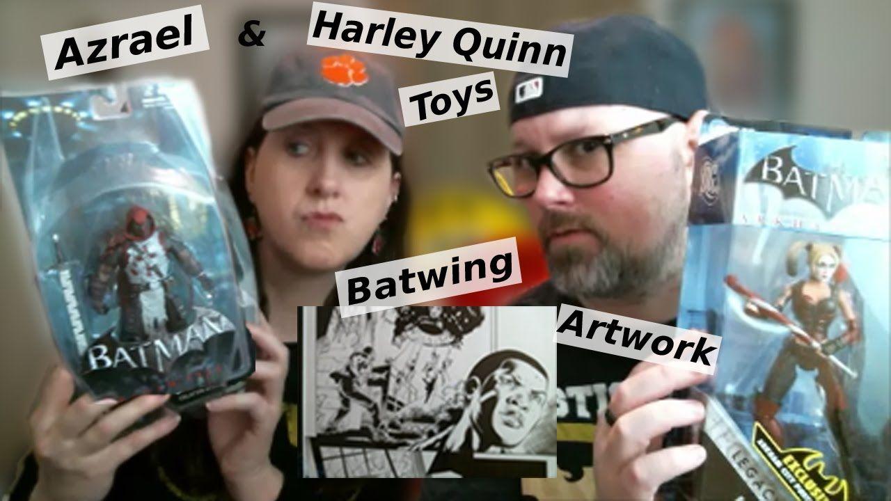 Harley Quinn, Asrael, Batwing comic art,  Derek and Nikki Review 081