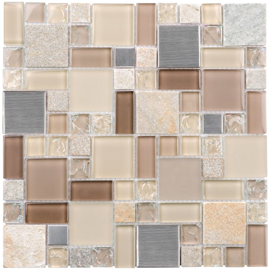 Three Elements Glass Mosaic Tile Glass Mosaic Tiles Slate Wall Tiles Mosaic Glass