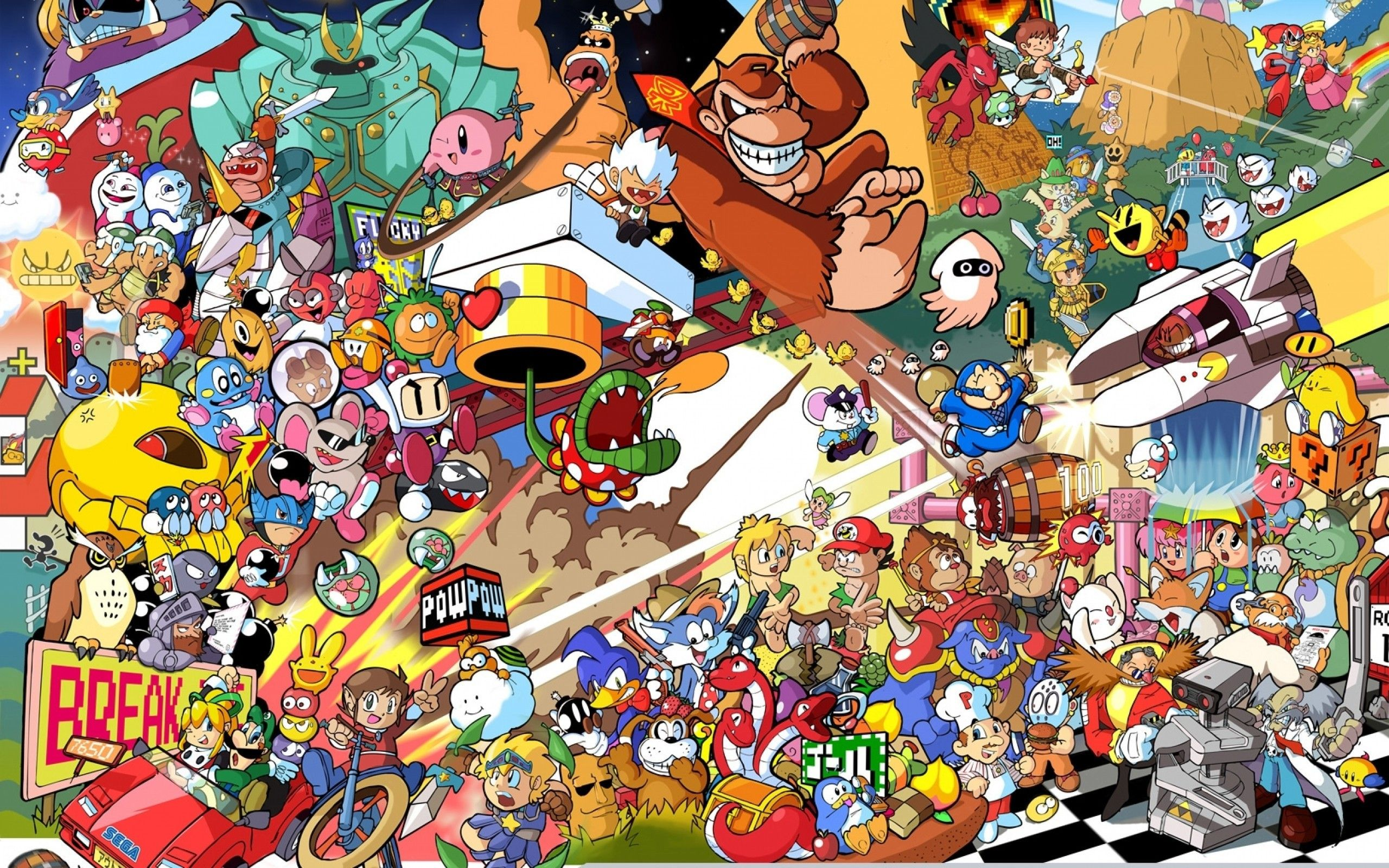 2560x1600 Nintendo Wallpapers · Super Smash BrosFree