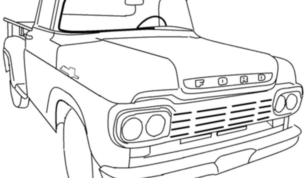 old car coloring pages | classic car coloring sheets | Vehicle ...