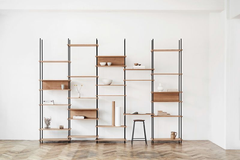 Modular Wooden Shelving Systems Scandinavian Furniture Design System Furniture Scandinavian Furniture