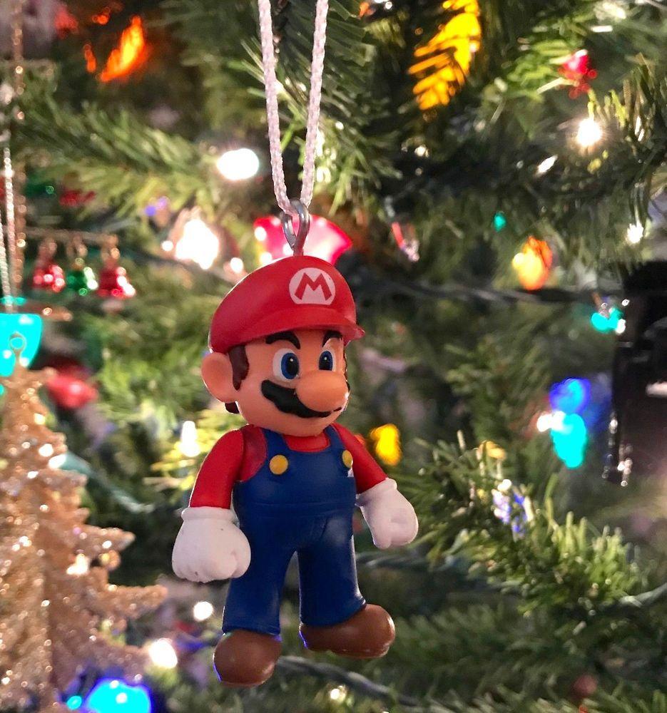 2 5 Super Mario Christmas Tree Ornament Nintendo Video Game Gift Breakresistant Nintendo Christmas Ornaments Christmas Tree Ornaments Unique Ornament