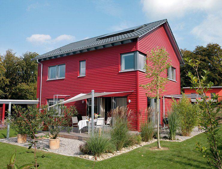 Englisches landhaus fertighaus  Schwedisches Einfamilienhaus: Modernes Fertighaus | Fertighäuser ...
