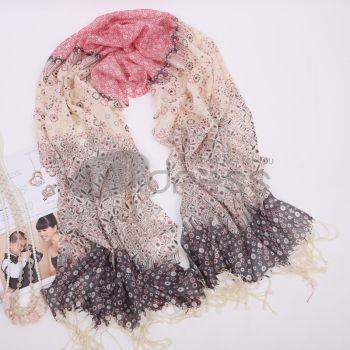 Ladies warm wool scarf