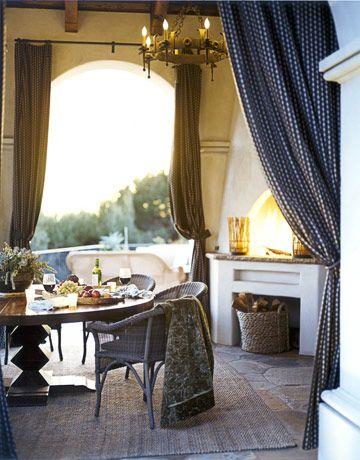 Are Warm Colors Right for You? Pinterest Dulce hogar, Cortinas y - cortinas para terrazas