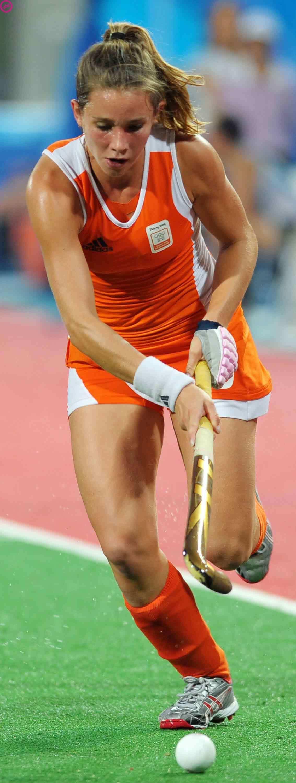Ellen Hoog - Dutch Olympic Field Hockey Team -6124