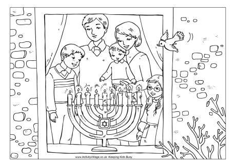 Free Hanukkah Activities For Kids