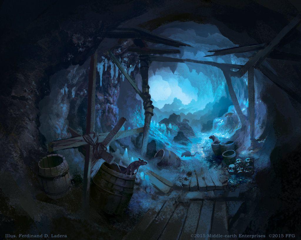 Dead Mines World Of Warcraft Fantasy Art Landscapes