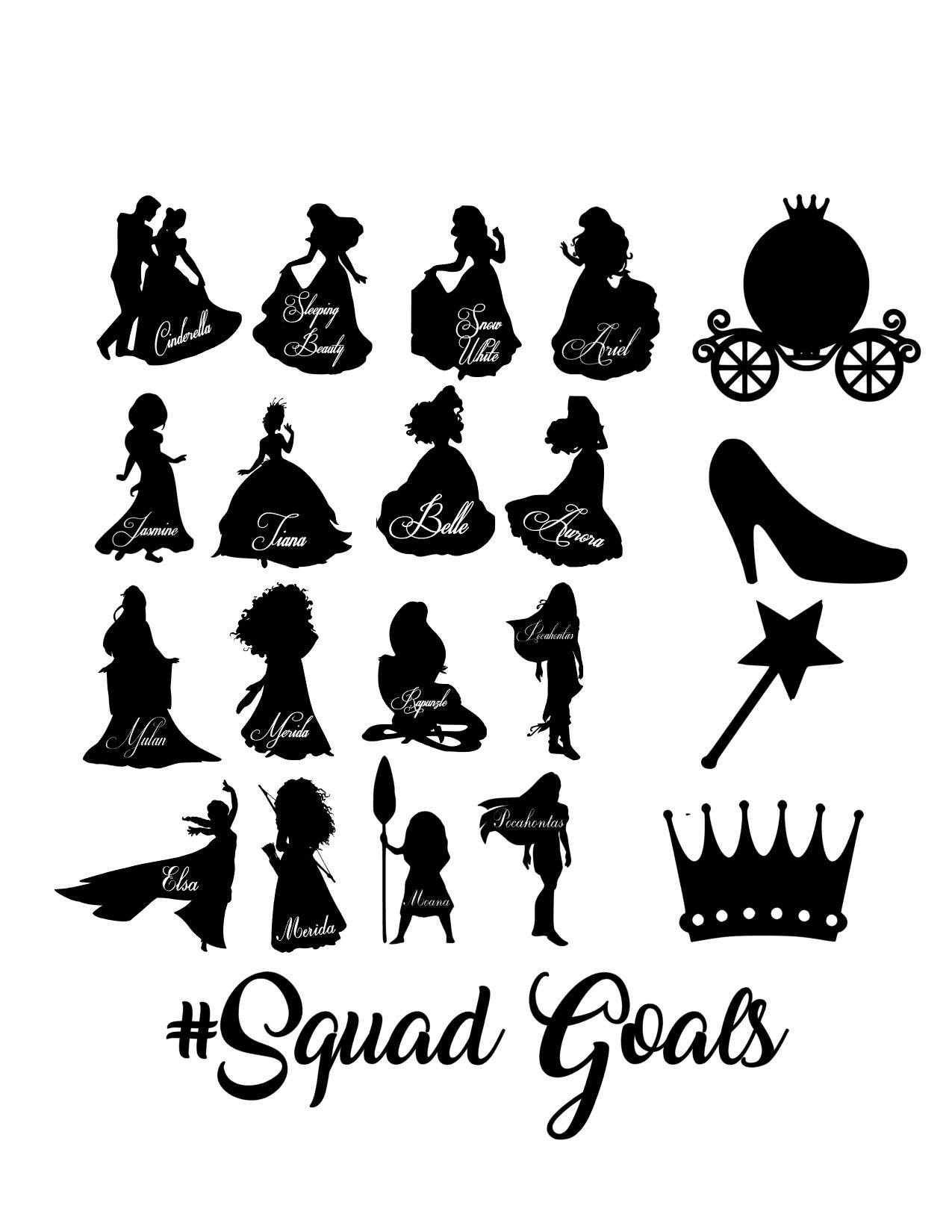 Winnie The Pooh Squad Goals Svg Disney Vector For Silhouette