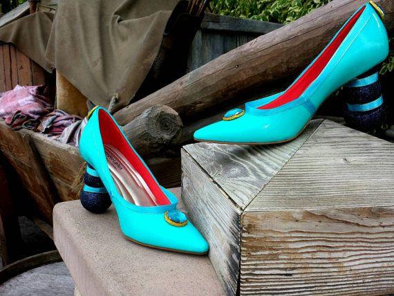 Disney Princess Jasmine high heel shoe