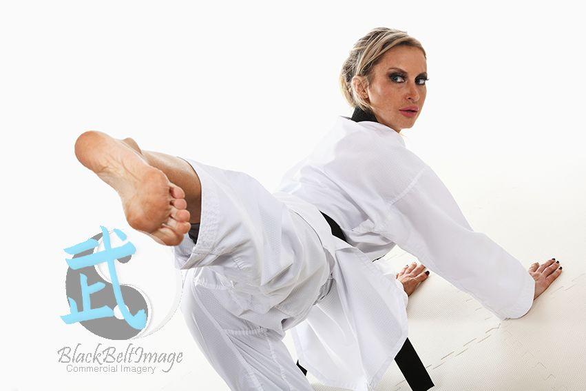 Latina sexy feet karate woman